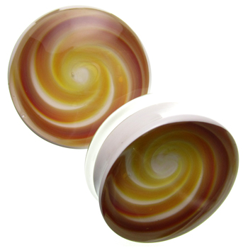 Glass Vortex Swirl Plugs
