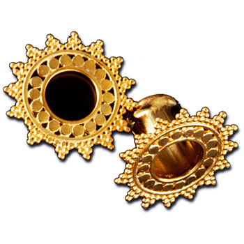 Gold Afghan Plugs