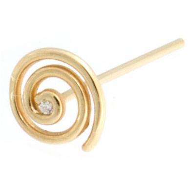Gold Melody Super Spiral Nostril Screw