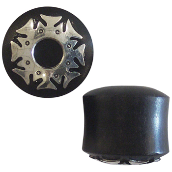 Black Horn and Silver Armor Plugs