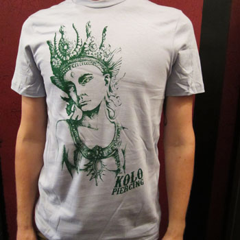 Kolo Goddess T-Shirt -Blue/Green