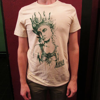 Kolo Goddess T-Shirt - White/Green