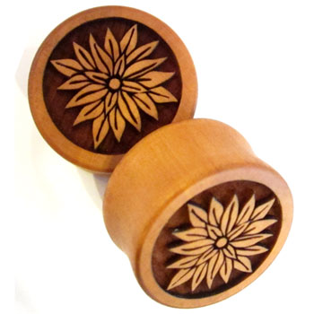 Pear Wood Blossom Plugs