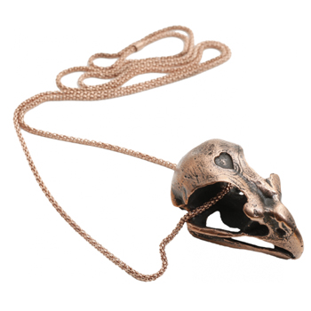 Copper Prey For Me Necklace