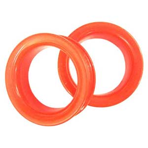 Silicone Eyelets - Bright Red