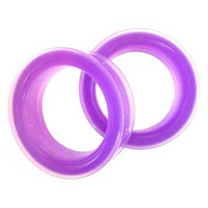 Silicone Eyelets - Translucent Purple