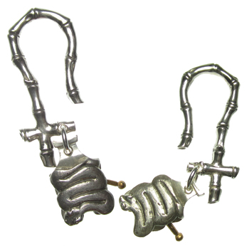 Silver Snake Charmer Weights