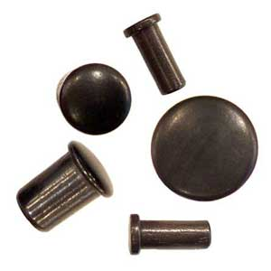 Ebony Single Flared Plugs