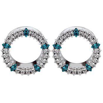 Surgical Steel Marquise Eyelets