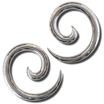 Surgical Steel Spirals
