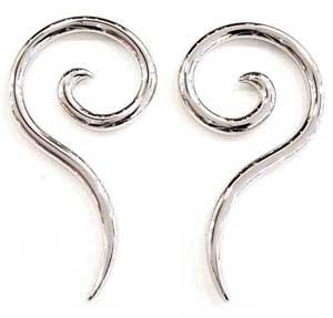 Surgical Steel Nine Spirals